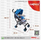 รถเข็นเด็ก ก้านร่ม รถเข็นยี่ห้อ Camera Baby Buggy Lite5 C-BG-0253 (ของใหม่) มีใบรับประกัน