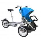 จักรยานรถเข็นเด็ก สีฟ้า (Baby stroller bike)