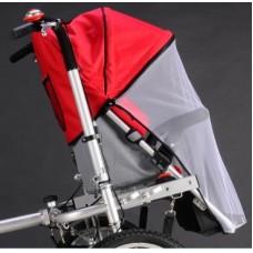 รถเข็นเด็กปั่นจักรยาน