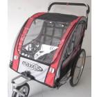 รถเข็นเด็กแฝด 2 ที่นั่ง พ่วงจักรยาน รถเข็นเด็กพี่น้อง (ส่งฟรี) คุณภาพดี