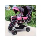 รถเข็นเด็กแฝด 2 ตอน รถเข็นเด็ก ของใหม่มือ 1 (ส่งฟรี) มี 5 สีให้เลือก น้ำหนักเบา คุณภาพดี ใช้คุ้มจ้า