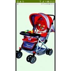 รถเข็นเด็ก bboys ของใหม่ สีแดงสดสวย